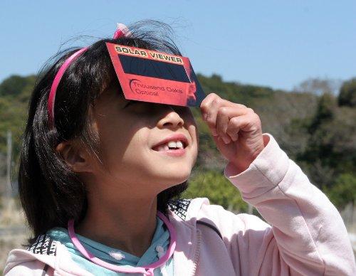 日食グラスカードタイプCE安全規格認証