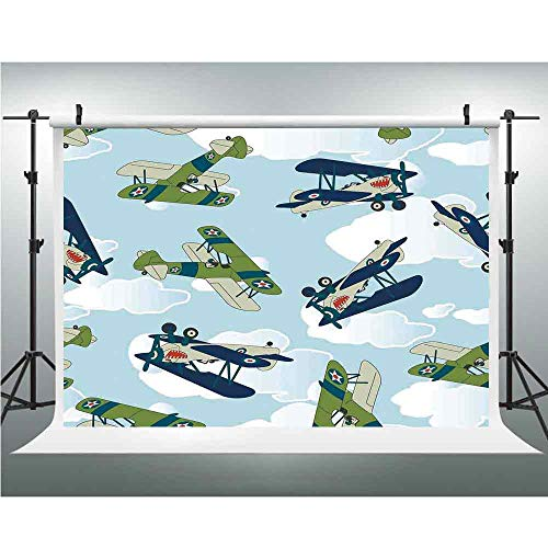 Airplane Decor,Cotton Cloth Backdrop Newborn Photography for sale  Delivered anywhere in USA