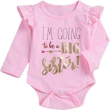 HEY Girl One piece Long Sleeve Gender RevealAnnouncement {Newborn Size /& 6 month}