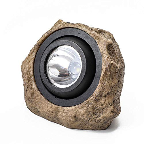 Outdoor Rock Lights Garden in US - 6
