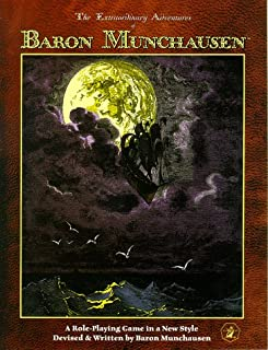 The Extraordinary Adventures of Baron Munchausen: A Role-playing Game in a New Style (1899749187) | Amazon price tracker / tracking, Amazon price history charts, Amazon price watches, Amazon price drop alerts
