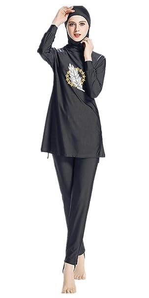 Tianmai New Muslim Swimwear For Women Islamic Hijab Modest Swimsuit