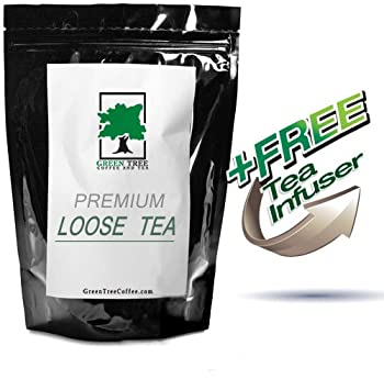 """South African Rooibos """"Red Tea"""" Superior Grade (caffeine free) Herbal Tea - 4 oz (with FREE 1.5"""" Mesh Tea Infuser)"""