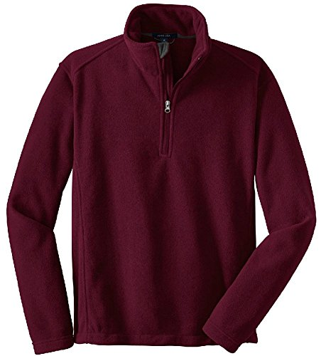 Joe's USA - Mens Soft and Cozy Fleece 1/4-Zip Pullovers Sizes: Adult (1/4 Zip Adult Pullover)