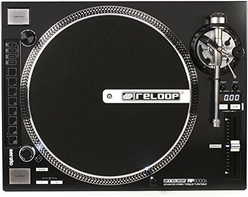 激安商品 Reloop RP-8000 Advanced RP-8000 Hybrid Straight Torque MIDI Turntable with (RP-8000-STR) Straight Tone Arm Black (RP-8000-STR) [並行輸入品] B076Z28NVY, NUTS(時計&デザイン雑貨):75485e14 --- wattsimages.com