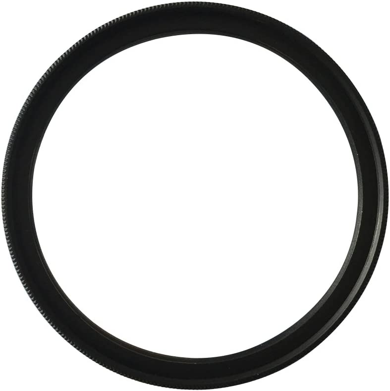 Black LEDMOMO Professional Optical UV Filter Camera Lenses Protector Black Frame 62MM