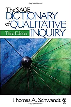 Book The SAGE Dictionary of Qualitative Inquiry by Thomas A. Schwandt (2007-03-05)