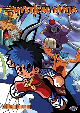 Legend of Mystical Ninja 3: A New Villian Reino Unido DVD ...