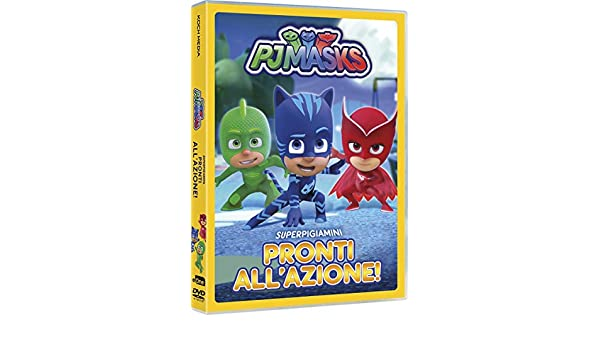 Pj Masks - Super Pigiamini Pronti AllAzione! Italia DVD ...