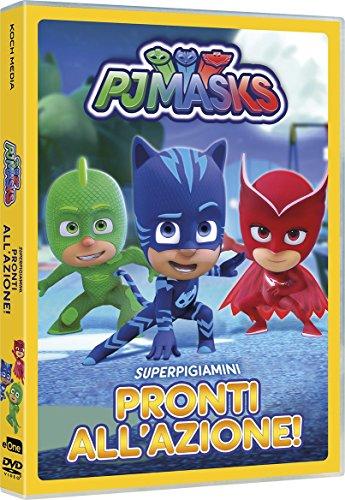 Pj Masks - Super Pigiamini Pronti AllAzione! [Italia] [DVD]