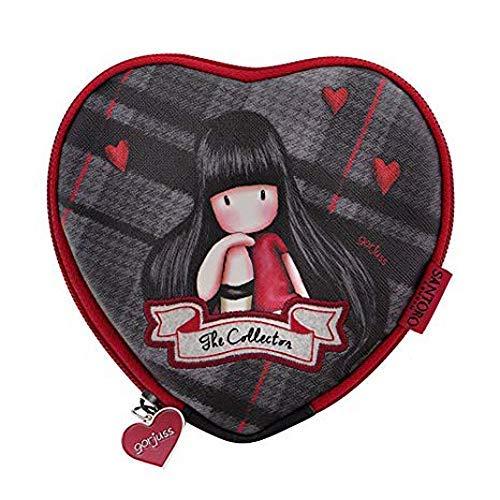 Santoro Gorjuss 847gj01 - Monedero con diseño de corazón de ...