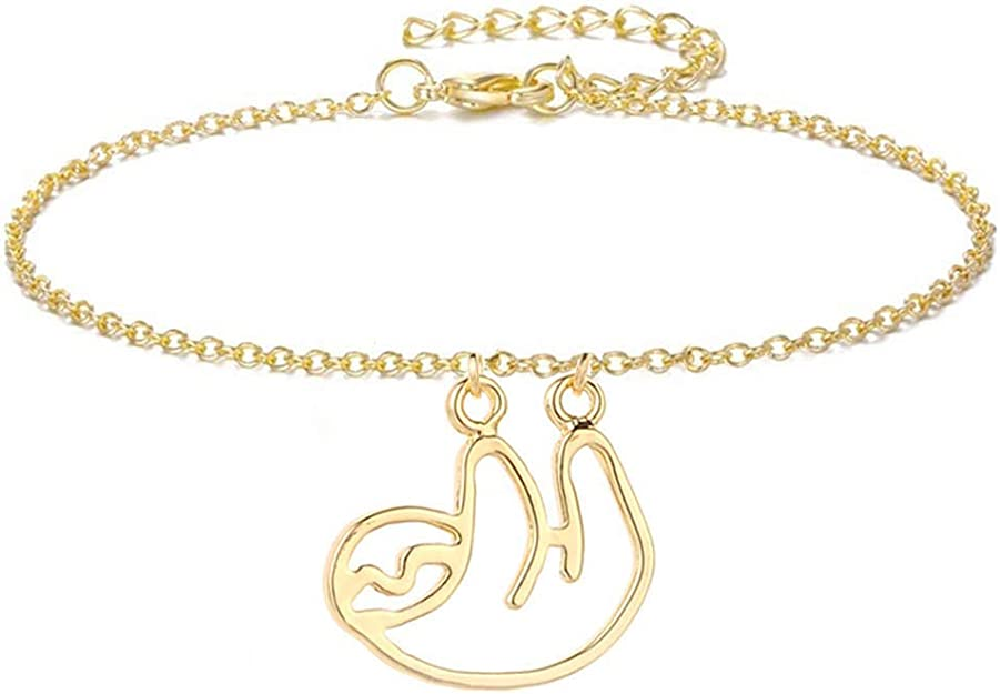 Trendy Unique Silver Gold Plated Anklet Cute Arrowhead Bare Foot Ankle Bracelet