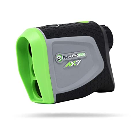 Precision Pro Golf NX7 Laser Rangefinder - Medidor de Distancia para Golf Preciso hasta 400 yardas – Perfecto como Accesorio o como Regalo para un ...