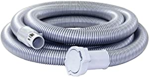Nadair Universal Low-Voltage Central Vacuum, Hose extension, 15 FT, GREY - ACCHO-15LV-EXT