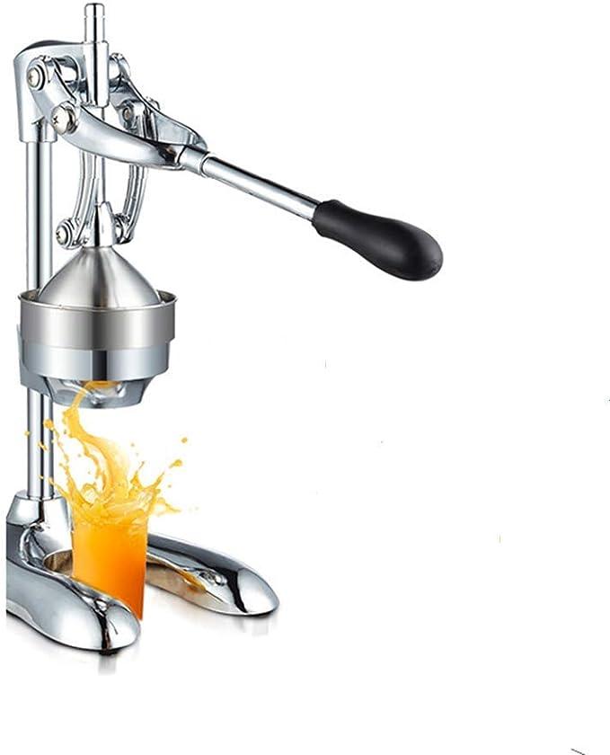 Extractor de jugo Exprimidor manual Presión manual Jugo de cítrico Exprimidor de limón Exprimidor de granada Máquina Exprimidor de acero inoxidable Prensa de exprimidor de cítricos: Amazon.es: Hogar