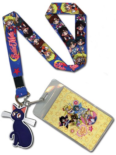 SD Main Girls Lanyard Great Eastern Entertainment Inc Great Eastern Entertainment Sailor Moon 37618
