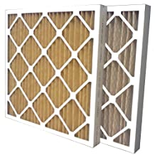 US Home Filter MERV 11 Pleated Air Filter, 6-Pack, 16-Inch by 20-Inch by 2-Inch