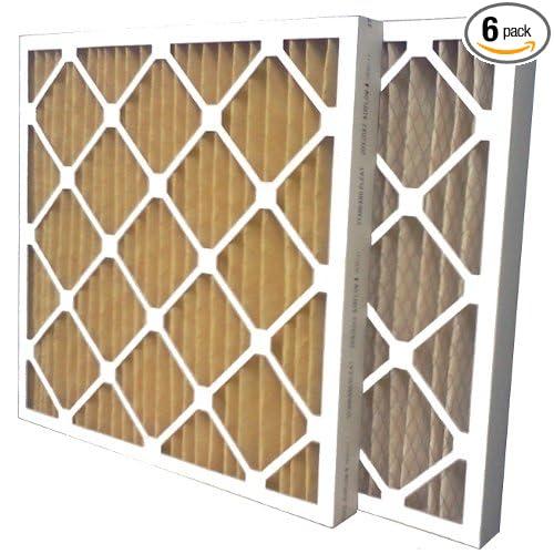US Home Filter SC60-20X25X2 20x25x2 Merv 11 Pleated Air Filter 20 x 25 x 2 20 x 25 x 2 Midwest Supply Inc 6-Pack