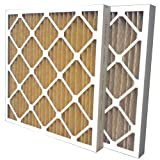 US Home Filter SC60-20X20X2 MERV 11 Pleated Air Filter (6 Pack), 20'' x 20'' x 2''