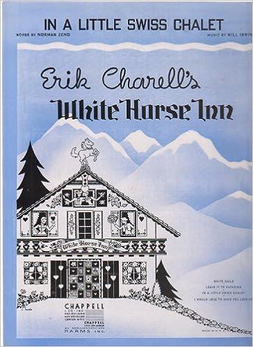 Amazon.com: White Horse Inn ; Vintage Sheet Music Vocal Piano Chords ...