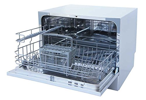 Silver SPT SD-2224DS Countertop Dishwasher with Delay Start /& LED