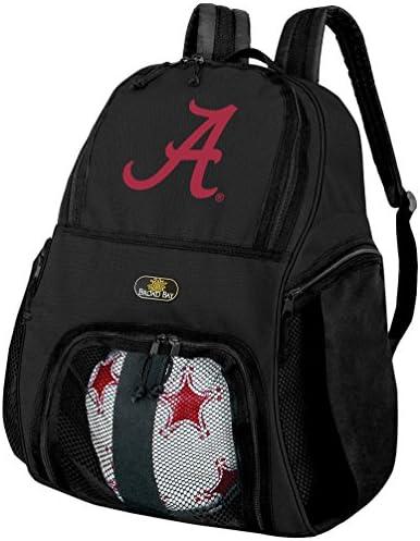 University of Alabamaアラバマサッカーバックパックまたはバレーボールバッグ