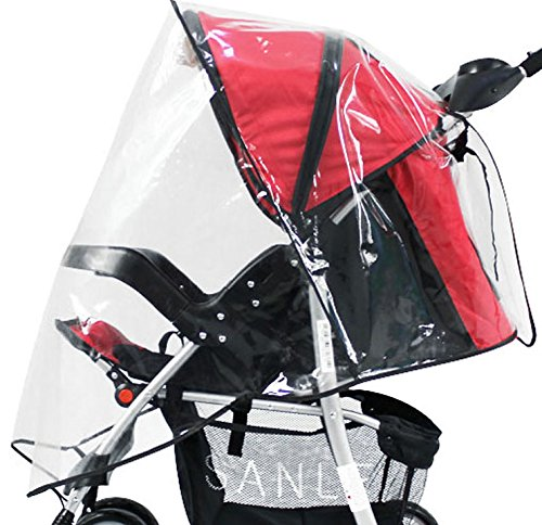 Simplicity Universal Waterproof Weather & Insect Shield Baby Stroller Cover (Clear 2) by Simplicity (Image #3)