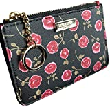 Kate Spade New York Laurel Way Bitsy Card Case Wallet Key Ring Hazy Rose