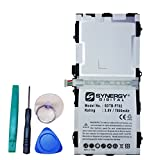 Samsung SM-T800 Tablet Battery Rechargeable Ultra High Capacity Embeeded Battery (Li-Pol 3.8V 7900mAh) - Replacement for Samsung EB-BT800FBC Battery - Installation Tools Included