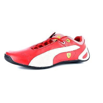 ad720bce05213 Puma Enfants Future Cat M2 Ferrari Motorsport Formateurs-Red   White-37.5