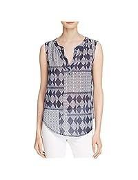 Velvet Womens Mali Cotton Gauze Tunic Top