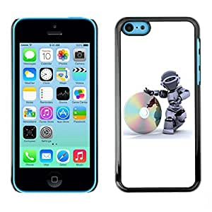 GagaDesign Phone Accessories: Hard Case Cover for Apple iPhone 5C - CD Robot by lolosakes