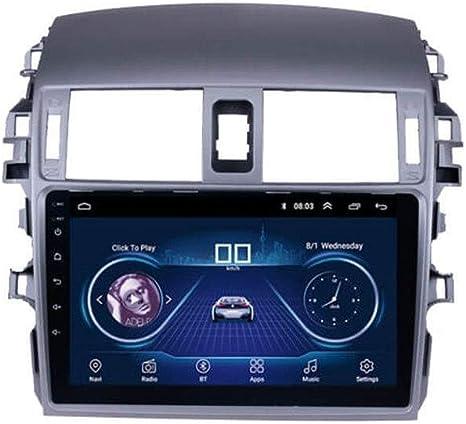 Navegación GPS para Toyota Corolla Coche Viejo, 2007-2010 9 Pulgadas Android 8.1 GPS 4G8 32G núcleo de navegación, Radio, Equipo de música, Bluetooth, navegador GPS,WIFI1G16G: Amazon.es: Electrónica