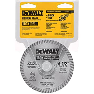 Dewalt dw4701 industrial 4 12 inch dry or wet cutting continuous dewalt dw4701 industrial 4 12 inch dry or wet cutting continuous rim keyboard keysfo Image collections