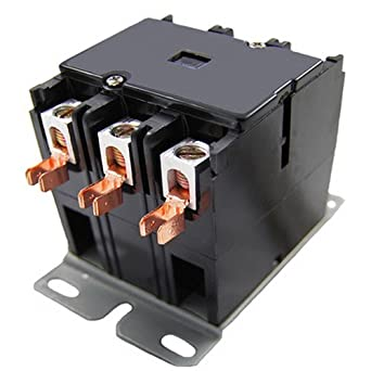 packard c360b packard contactor 3 pole 60 amps 120 coil voltage AC Contactor Wiring packard c360b packard contactor 3 pole 60 amps 120 coil voltage motor contactors amazon com industrial \u0026 scientific