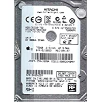 HTS727575A9E362, PN 0J18853, MLC DA4187, Hitachi 750GB SATA 2.5 Hard Drive