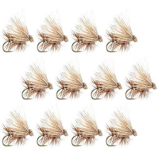 Montana Fly Company Elk Hair Caddis - 12-Pack Tan, 16 - Tan Elk Hair Caddis