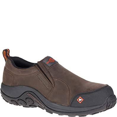 9271494a1fe40 Amazon.com  Merrell Jungle Moc Comp Toe Work Shoe Men  Shoes