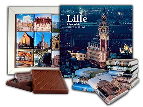 DA CHOCOLATE Candy Souvenir LILLE Chocolate Gift Set 5x5in 1 box - Citadel Commerce