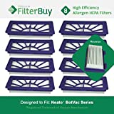 8 - Neato XV 21 Filters. Designed by FilterBuy to fit Neato XV Series Robot Vacuums