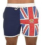 Moses Union Jack Designer Swim Shorts Trunks Swimwear, Size XL