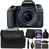 Canon EOS 77D DSLR Camera with 18-55mm IS STM Lens and Accessory Bundle Review