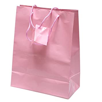 Amazon.com: Medium Pink Gift Bags: Kitchen & Dining