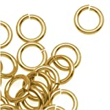 Dreambell 20 pcs 14k Gold Filled Round Open Jump