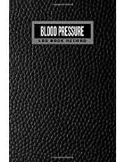 Blood Pressure Log Book Record: 2 year 104 Weeks of Daily Readings   4 Readings a Day with Time, Blood Pressure, Heart Rate, Weight & Comment Notes