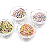 #5: MChoice colorful Styrofoam Sugar Sprinkles Decorative Slime DIY Craft For Crunchy Slime