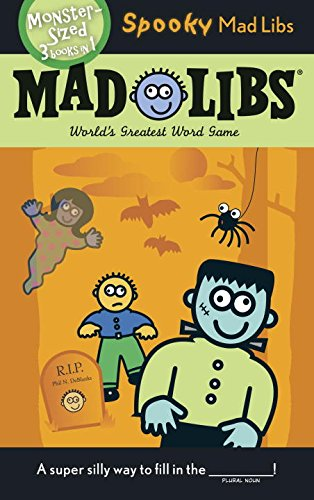 Spooky Mad Libs (Halloween Kindergarten Literacy Activities)