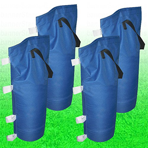 SAND BAG Weight Bag 4 pcs Pack Set for Pop Up Shelter Canopy Gazebo Party Tent