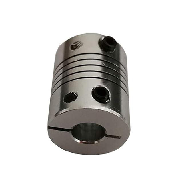 WNJ-Tool, Impresora 1pcs D20L25 6.35X8mm Aluminio Z Eje Flexible ...