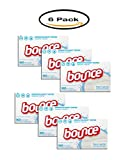 Pack of 6 - Bounce Dryer Sheets, Free & Gentle, 160 Sheets